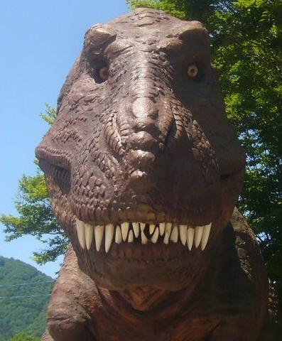 恐怖の恐竜