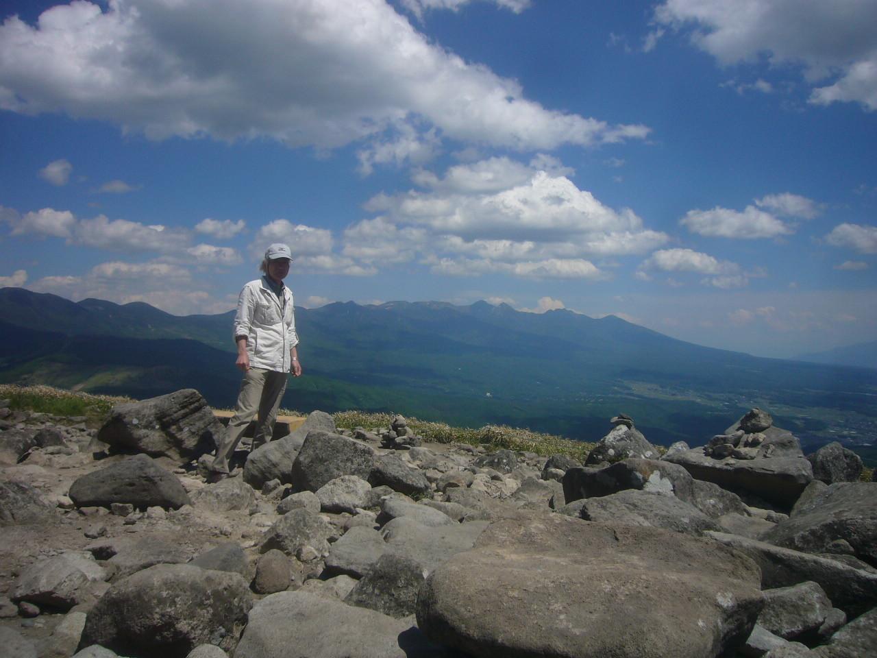 車山から 八ヶ岳連峰 H29.6.16