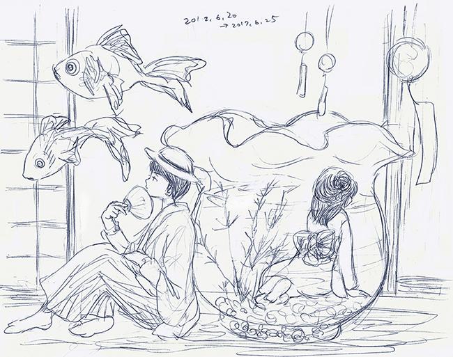 170626金魚姫