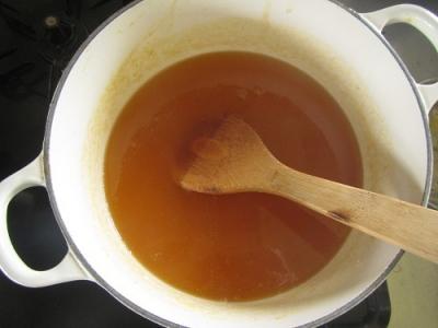 梅ジャム鍋