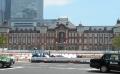 行幸通りから見た東京駅丸の内駅舎