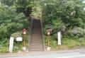 熊野神社の登り口