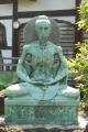 苦行の釈迦像