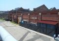 赤レンガ倉庫の裏側