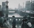 昭和35年の心斎橋(4年後に埋められた)