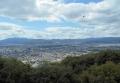 大舞台から見る京都市街地