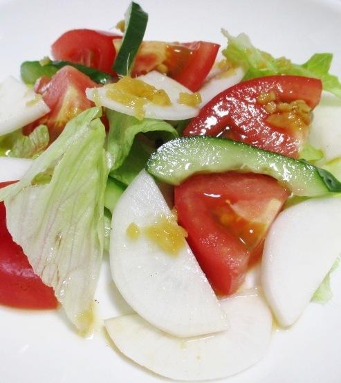 トマトと小カブのサラダ 大