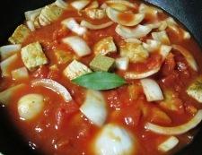 豚ロースと春野菜のトマト煮 調理④