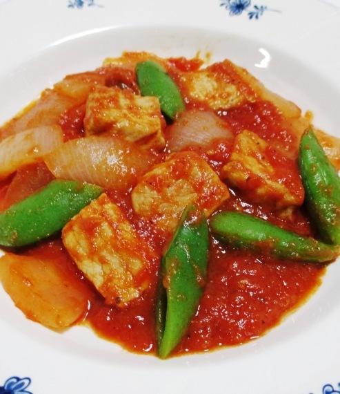 豚ロースと春野菜のトマト煮 B