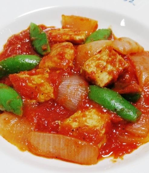 豚ロースと春野菜のトマト煮 拡大