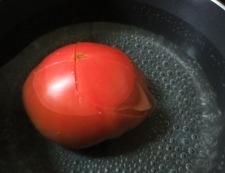九条ねぎトマト 調理①