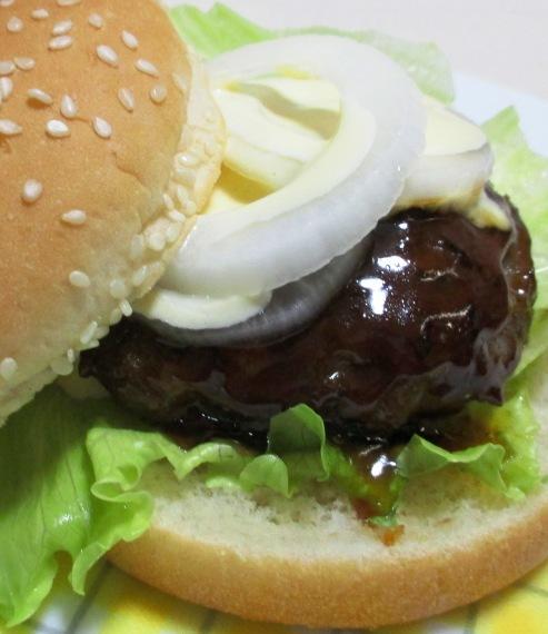 ハンバーガー 大