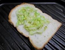 パプリカトースト 調理②