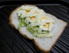 パプリカトースト 調理③