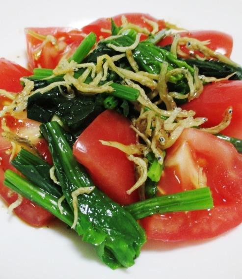 トマトほうれん草 B