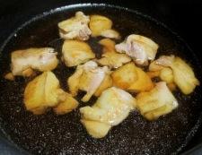鶏肉と春雨の甘辛煮 調理④