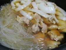 鶏肉と春雨の甘辛煮 調理⑤