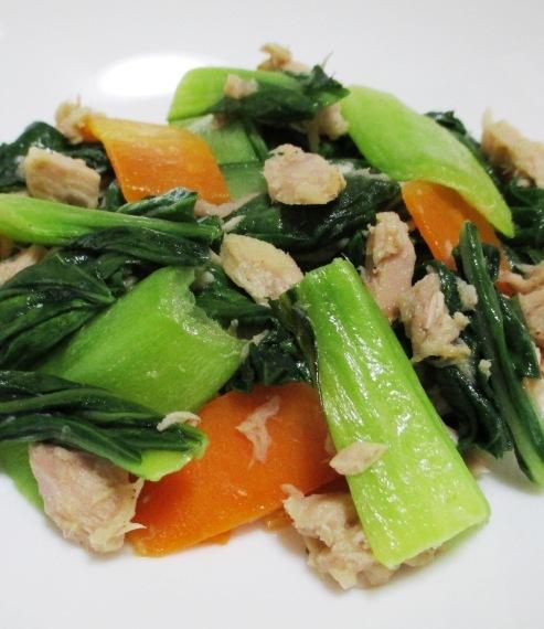 ツナ青梗菜 B