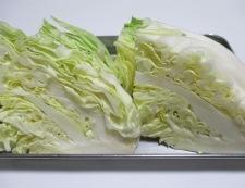 ソーセージと春野菜のポトフ 調理①