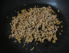 ナスとひき肉のピリ辛炒め 調理③