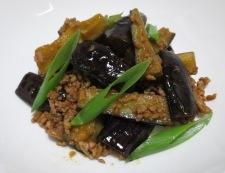 ナスとひき肉のピリ辛炒め 調理⑥