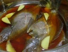 水カレイの煮付け 調理③
