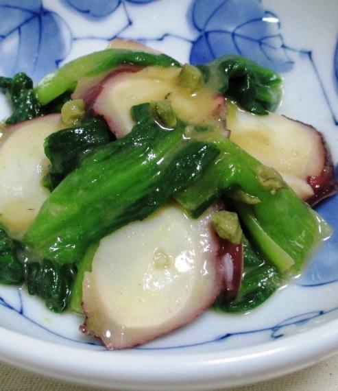 タコ青梗菜 B