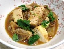 牛すじと豆腐の味噌煮 調理⑥