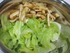 梅肉和え 調理②
