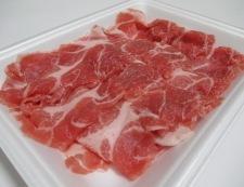 ごぼうと豚肉のしぐれ煮 材料②