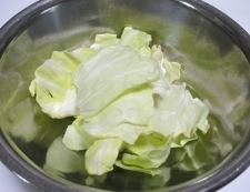 野菜天キャベツ 材料②