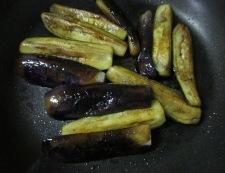 ナスの醤油炒め 調理④
