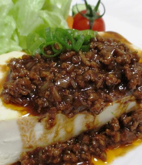 肉味噌豆腐 拡大