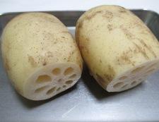 レンコンとアスパラのチーズ焼き 材料①