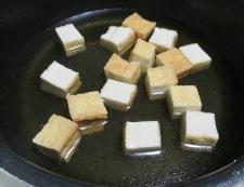 絹揚げキャベツ 調理②