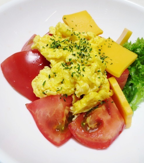炒り卵トマト 大