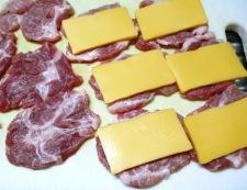 揚げないチーズインカツ 調理②