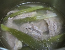 牛すじコンニャク豆腐 調理④