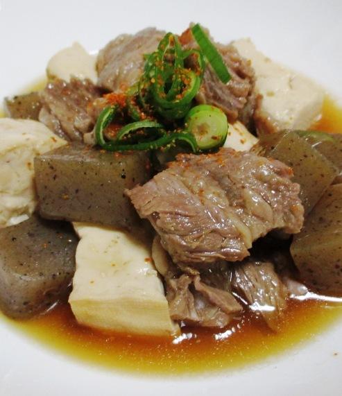 牛すじコンニャク豆腐 B