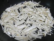 豆腐とえのき 調理③