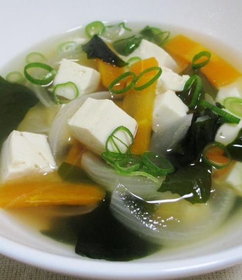 豆腐わかめスープ B