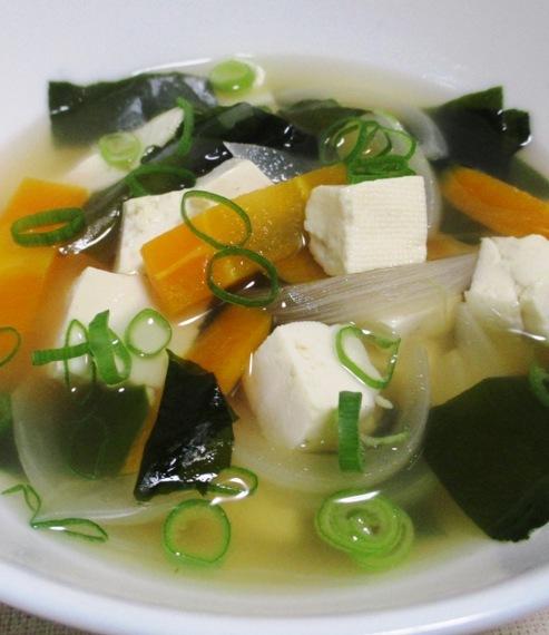 豆腐わかめスープ 大