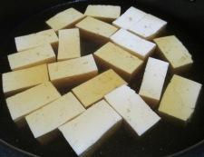鶏もも肉と豆腐炒り卵の煮物 調理④