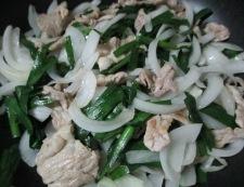 豚こまニラたまスタミナ炒め 調理⑤