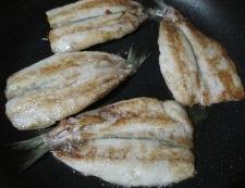 いわしの照り焼き 調理④