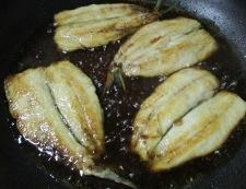 いわしの照り焼き 調理⑤