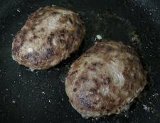 ハンバーグステーキ 調理④