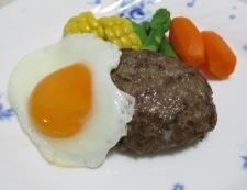 ハンバーグステーキ 調理⑤