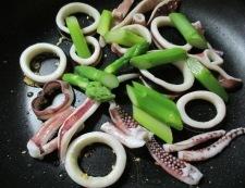 イカのガーリックチーズ焼き 調理③