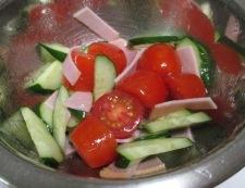 ミニトマトマリネ 調理②
